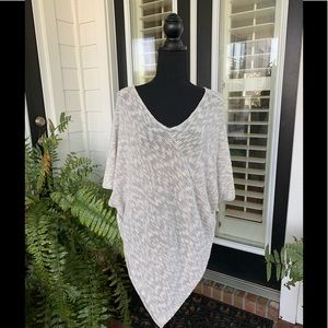 Two by Vince Camuto poncho sweater